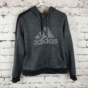 Gray adidas sweat shirt